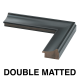 1.75 in. Satin Charcoal Wood with Mats
