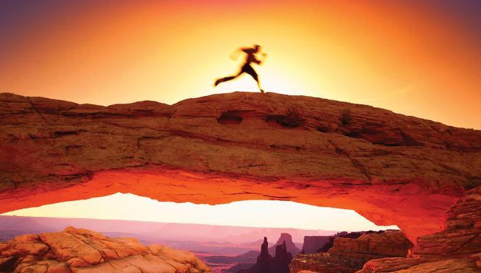 Desert Runner Motivational Posters