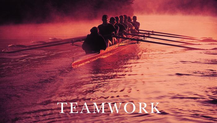 Successories Classic Rowers with Text Motivational Posters