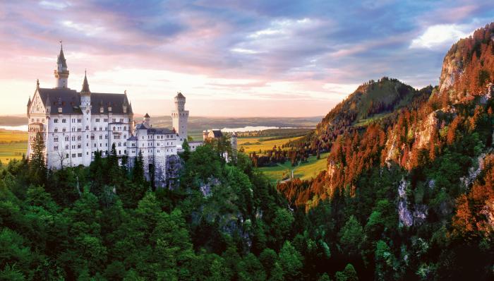 Imagine Alpine Castle Motivational Posters