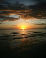 Framed Prints & Gifts - Sunset Over the Beach