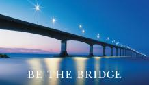 Framed Prints & Gifts - Be The Bridge with Text