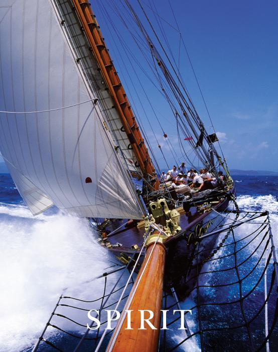 Spirit Sail Boat with Text Motivational Posters