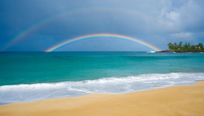Rainbow of Paradise Motivational Posters