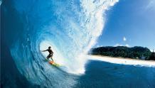 Framed Prints & Gifts - Surfer in a Barrel