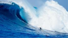 Framed Prints & Gifts - Surfer and Massive Wave