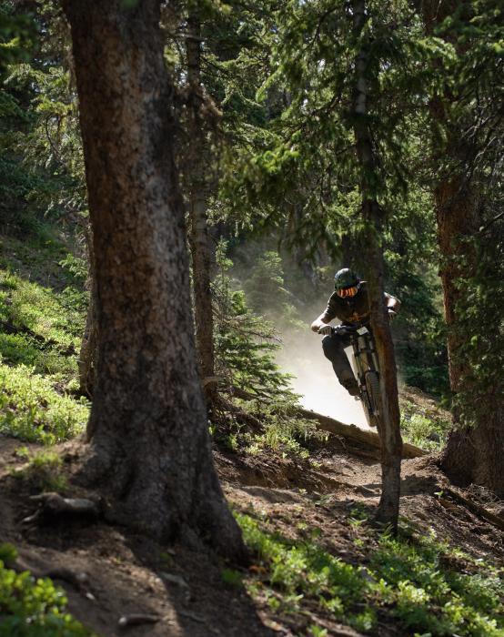Mountain Biker's Journey Motivational Posters