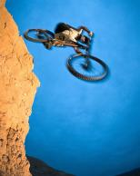 Framed Prints & Gifts - Mountain Bike Leap