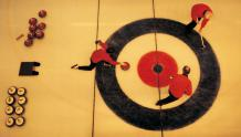 Framed Prints & Gifts - Bird's Eye Curling