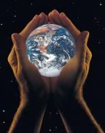 Framed Prints & Gifts - The whole world in your hands