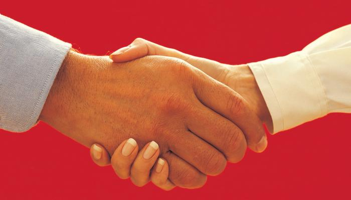 Hands in Business Together Motivational Posters