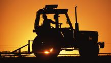 Framed Prints & Gifts - Tractor at Sunrise