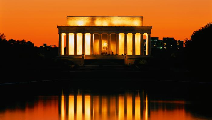 Lincoln Memorial Motivational Posters