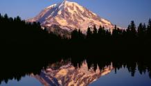 Framed Prints & Gifts - Mirrored Lake and Mountain