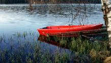 Framed Prints & Gifts - Red Rowboat