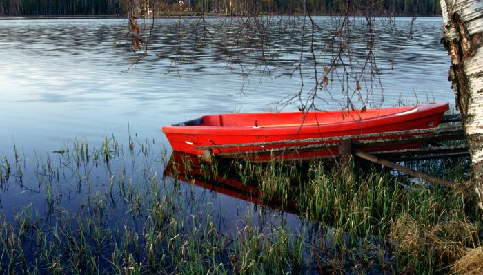Red Rowboat Motivational Posters