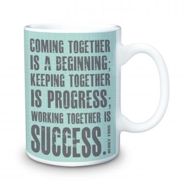 Working Together 15oz Ceramic Mug