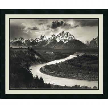 Ansel Adams The Tetons and the Snake River, Grand Teton National Park, Wyoming, 1942 Office Art