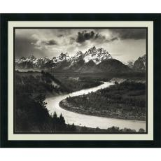Ansel Adams - Ansel Adams The Tetons and the Snake River, Grand Teton National Park, Wyoming, 1942 Office Art