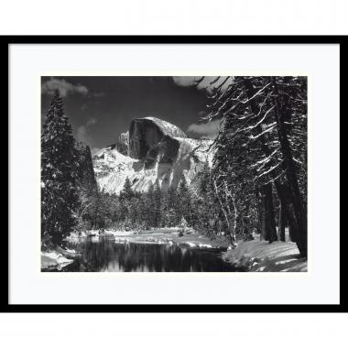 Ansel Adams Half Dome, Winter - Yosemite National Park, 1938 Office Art