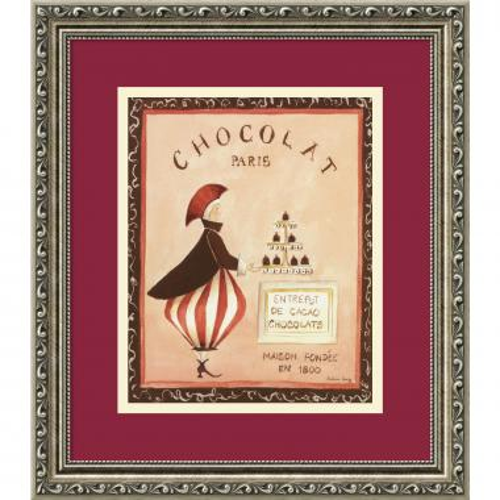 Katharine Gracey Chocolat, Paris Office Art