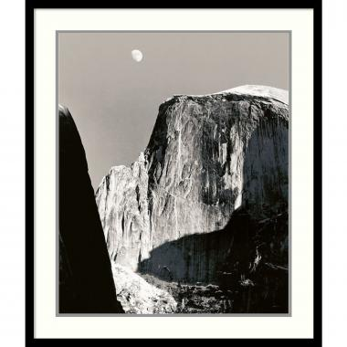 Ansel Adams Moon Over Half Dome Office Art