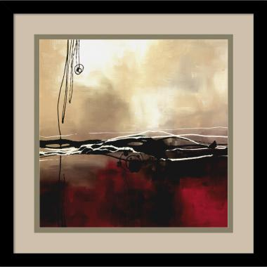 Laurie Maitland Symphony in Red and Khaki I Office Art