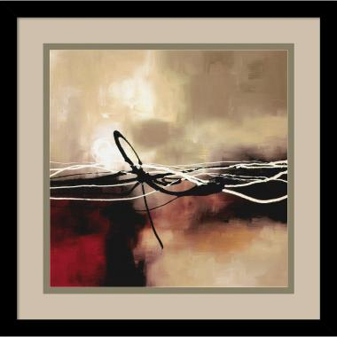 Laurie Maitland Symphony in Red and Khaki II Office Art