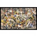 Jackson Pollock Convergence Office Art