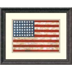 Fine Art - Jasper Johns Flag, 1954-55 Office Art