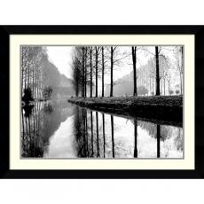 Black & White - Bill Philip Canal, Normandy Office Art