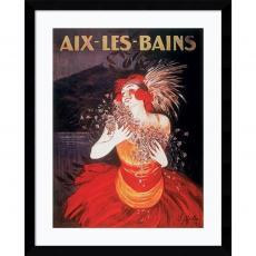 Vintage Ads - Leonetto Cappiello Aix-Les-Bains Office Art