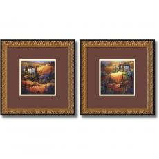Closeout and Sale Center - Nancy O'Toole Tuscany - set of 2 Office Art