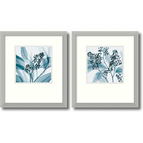 Steven N. Meyers Silver Eucalyptus - set of 2 Office Art