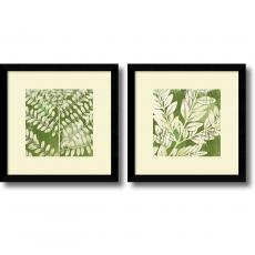 Flowers & Plants - Erin Clark Leaves - set of 2 Office Art