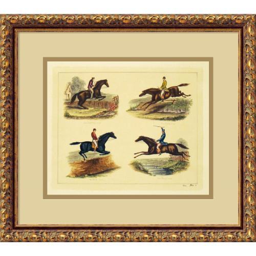 Equestrian Leaps Office Art