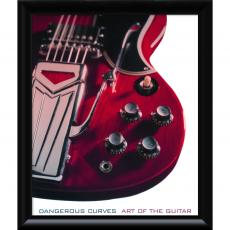 Music - Carl Tremblay Dangerous Curves: Art of the Guitar Office Art