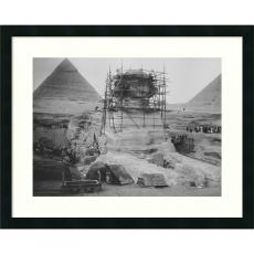 Closeout and Sale Center - Restoration Work on the Sphinx at Giza, 1925 Office Art