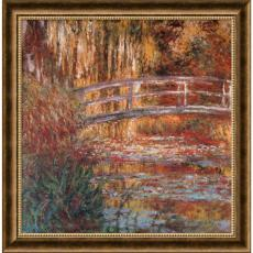 Claude Monet - Claude Monet The Water-Lily Pond, 1900 Office Art