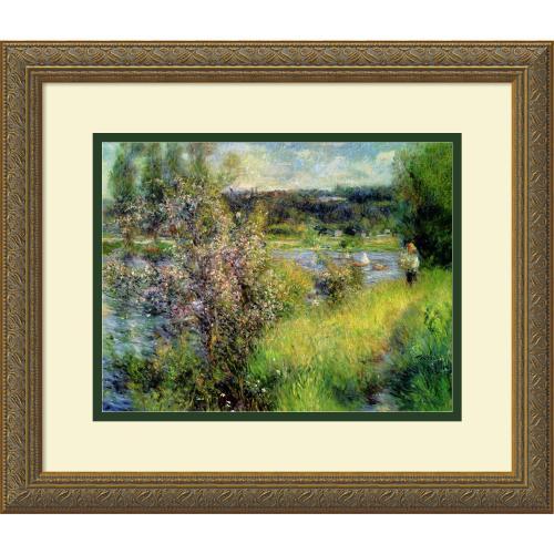 Pierre Auguste Renoir The Seine at Chatou Office Art