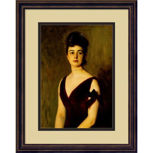 John Singer Sargent Mrs. Charles E. Inches (Louise Pomeroy), 1887 Office Art
