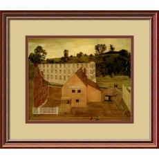 Landscapes - Jessie D. Bunting View of Darby, Pennsylvania, After the Burning of the Lord's Mill Office Art