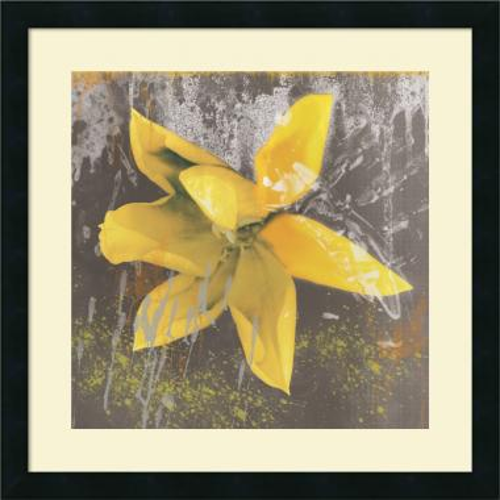 Erin Clark Tulip Fresco (yellow) Office Art