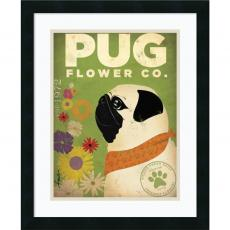 Stephen Fowler - Stephen Fowler Pug Flower Co. Office Art