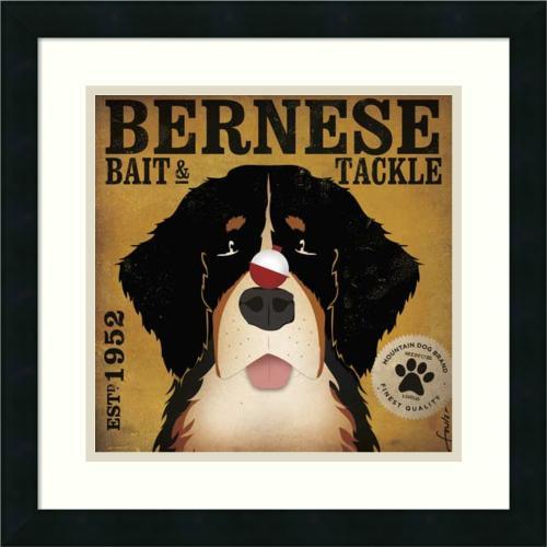 Stephen Fowler Bernese Bait & Tackle Office Art