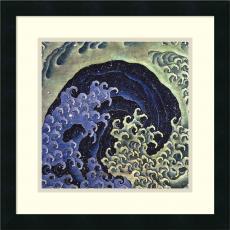 Beach & Ocean - Katsushika Hokusai Feminine Wave Office Art
