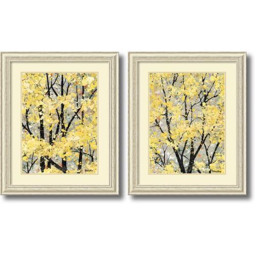 H. Alves Early Spring - set of 2 Office Art