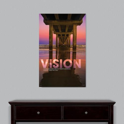Vision Bridge Motivational Art