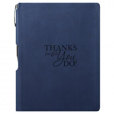 Thanks for All You Do Journal