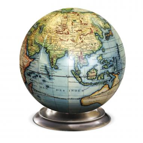 Desktop Globe with Metal Base